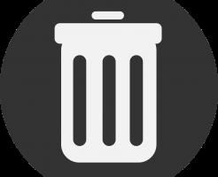 退会するためのゴミ箱