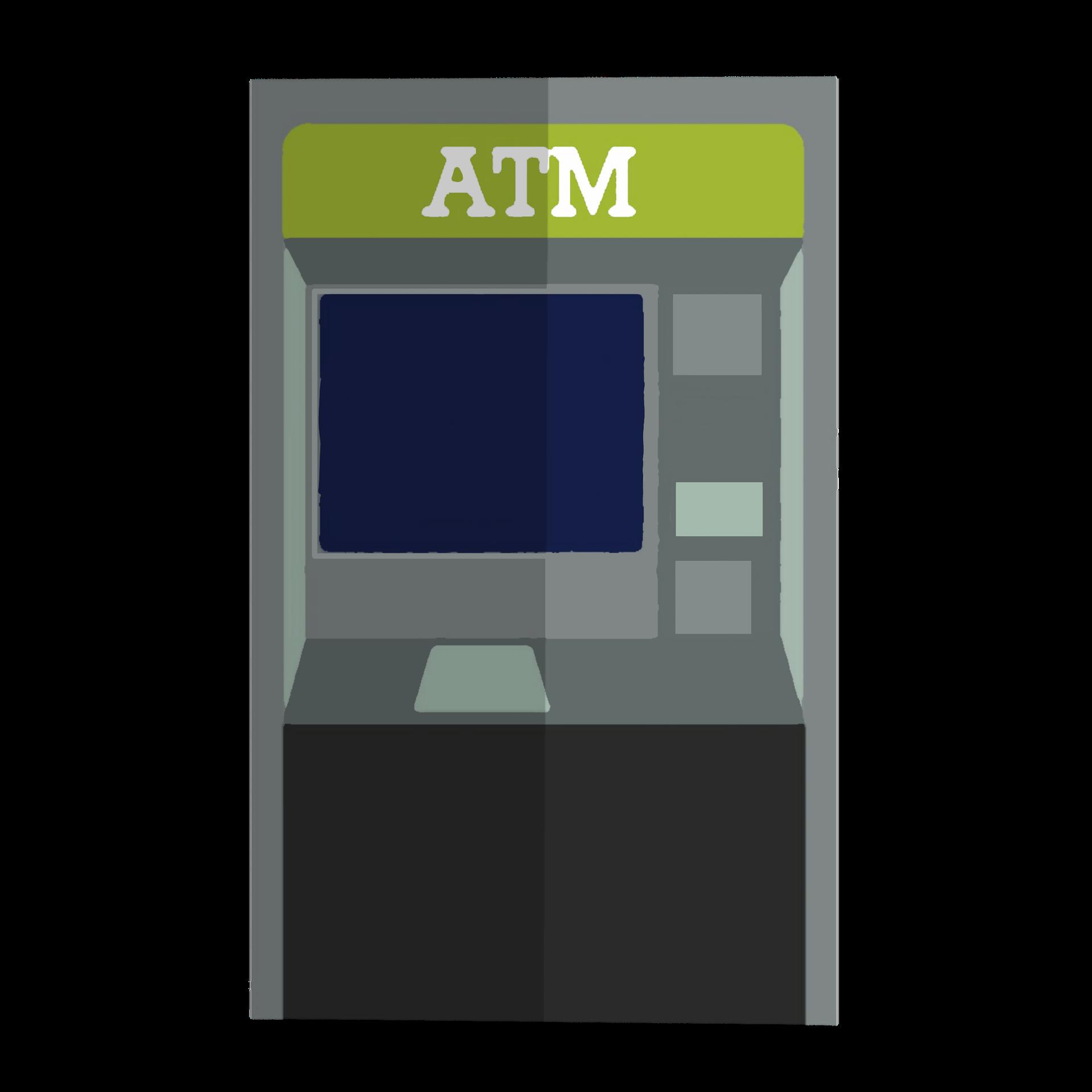 ATMで振り込みする