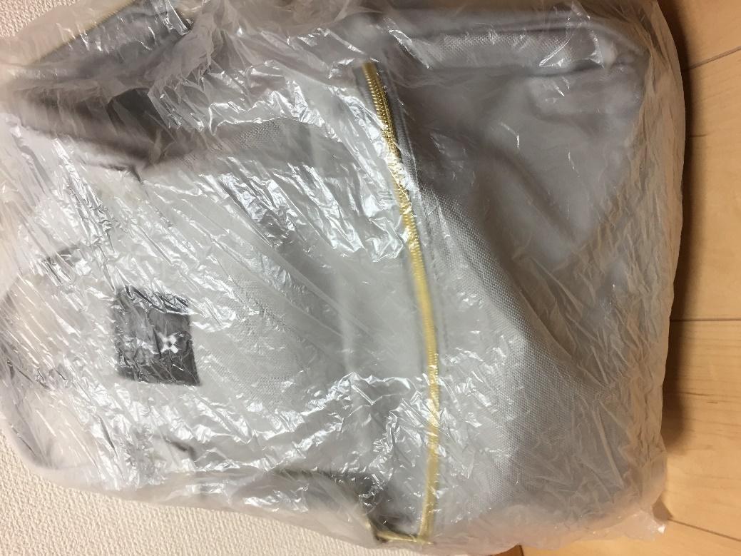 リュックの水漏れ防止のビニール袋