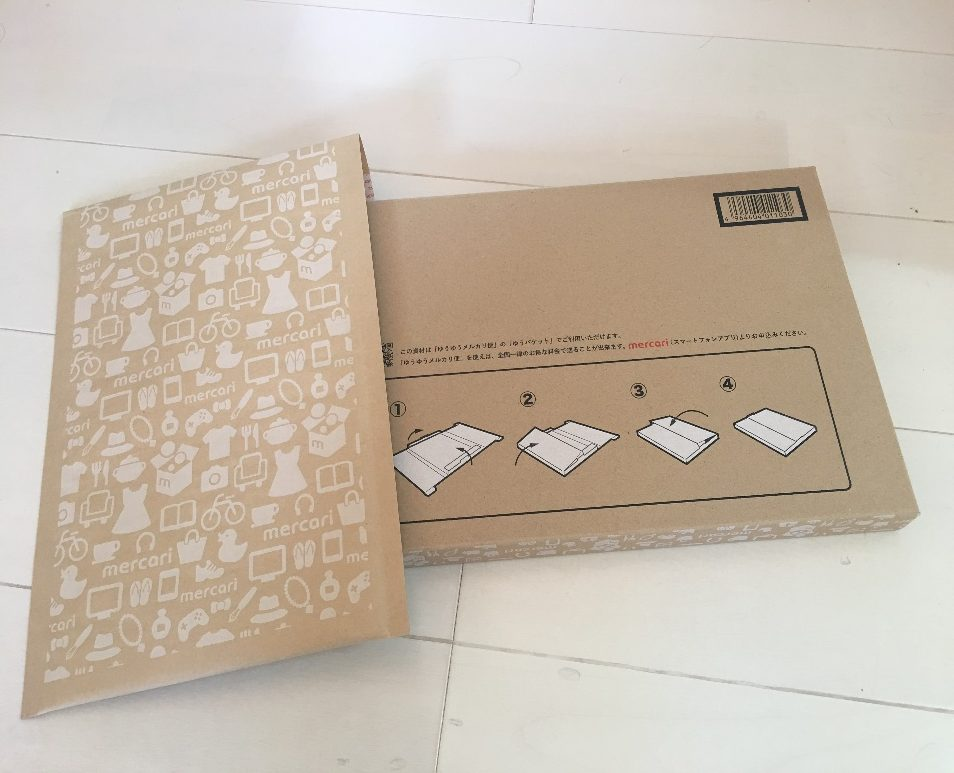 メルカリのゆうパケット専用箱